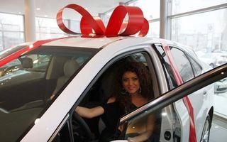 Elena Gheorghe, implicată într-un accident