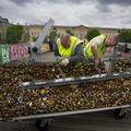 """""""Lacătele iubirii"""" de pe celebrul pod din Paris au fost date jos"""