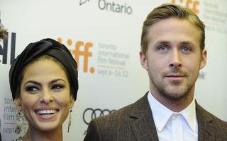Eva Mendes s-a logodit cu Ryan Gosling