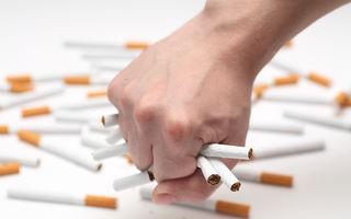 Studiu: Consumul de tutun este în scădere cu 2% în Uniunea Europeană