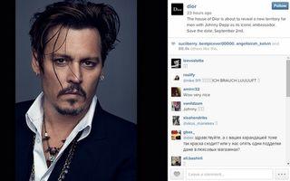 Johnny Depp, sexy la 51 de ani. Actorul a devenit imaginea unui nou parfum al casei Dior