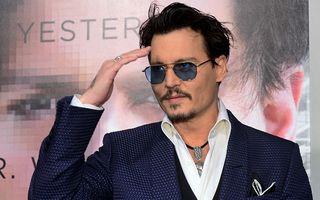 Johnny Depp reclamă la un parfum Dior