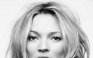Kate Moss a făcut scandal în avion