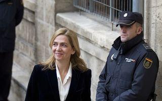 Infanta Cristina a rămas fără titlul de ducesă