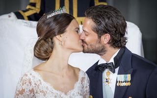 Prințul Carl Philip al Suediei s-a căsătorit cu fostul model Sofia Hellqvist - FOTO, VIDEO