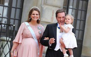 Prinţesa Madeleine a Suediei a născut un băieţel