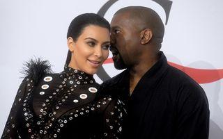 Kim Kardashian şi Kanye West vor avea un băieţel