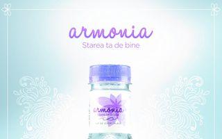 Armonia, un brand nou-nouţ de apă plată