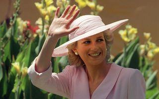 O rochie a prinţesei Diana, vândută la licitaţie cu 200.000 de dolari - FOTO