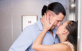 Sex în lift. 5 poziţii pentru partide de amor spontane şi periculoase