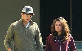 Ashton Kutcher şi Mila Kunis s-au căsătorit