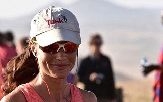 Pippa maratonista: Sora ducesei Kate Middleton a alergat 42 de kilometri pe o căldură ucigătoare