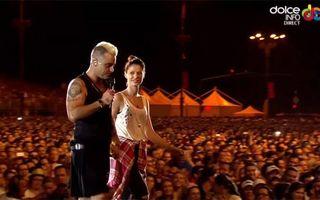 """Cine e tânăra pe care Robbie Williams a invitat-o pe scenă: """"Când s-a apropiat, am început să tremur"""""""