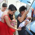 Andreea Mantea și-a botezat băiețelul: Vedeta a ţinut un discurs emoţionant