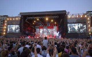 Concertul Robbie Williams: Organizatorii au fost amendaţi cu 10.000 lei