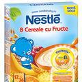 Nestlé lansează noile cereale pentru sugari și copii mici, cu fier+