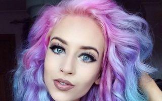 Frumuseţe. Stilul curcubeu, tendinţa rebelă în colorarea părului