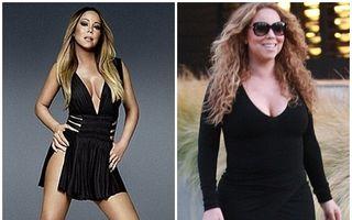 Victima traiului pe picior mare: Mariah Carey continuă să se îngraşe
