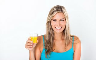 Sucul de portocale, supliment de energie pentru creier