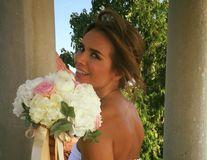 Fata de la meteo, o mireasă ascunsă: Magda Pălimariu s-a căsătorit în secret