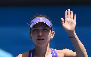 Simona Halep s-a calificat în optimi de finală la Toronto - VIDEO