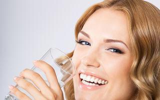 Sănătate. Ce e mai bine să consumăm? Apa de la robinet sau cea îmbuteliată?