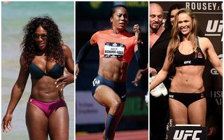 Prea puternice pentru sexul slab: Sportivele cu trup de bărbat îşi apără feminitatea