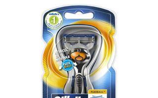 Gillette revoluționează bărbieritul prin tehnologia FlexBall