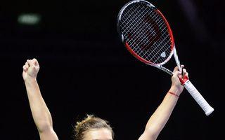 Simona Halep s-a calificat în sferturi la Cincinnati