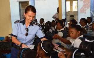 O româncă a primit premiul pentru cea mai bună poliţistă din lume
