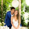Adela Popescu şi Radu Vâlcan, lună de miere la înălţime