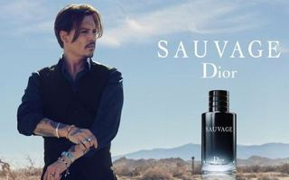 "Johnny Depp, imaginea parfumului ""Sauvage"" de la Dior - VIDEO"