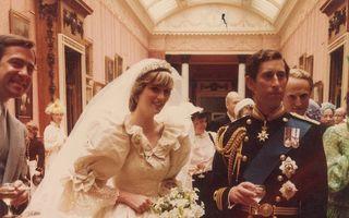 În amintirea unei prinţese: Imagini din culisele nunţii Dianei cu Prinţul Charles