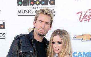Avril Lavigne s-a despărţit de Chad Kroeger
