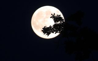 Fenomen astronomic rar: Super Lună şi eclipsă de Lună, simultan!