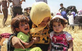 Imaginile calvarului: Chinul sfâşietor al refugiaţilor pe drumul dintre moarte şi speranţă