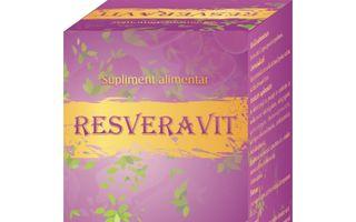 Resveravit – suplimentul alimentar cu cea mai mare concentratie de resveratrol