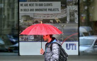 Cod galben de ploi în Bucureşti şi 7 judeţe din ţară