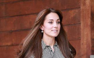 Înapoi la muncă: Kate Middleton, prima apariție publică după ce a născut
