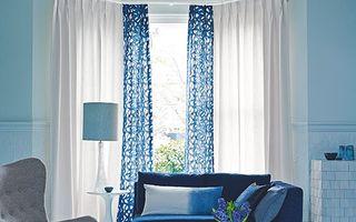 Casa ta. Living în nuanţe intense de albastru. 30 de imagini care te pot inspira