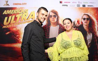 Oana Roman a sărbătorit ziua de naștere a soțului ei la Cinema City