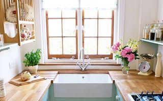 Casa ta. Cum să amenajezi eficient o bucătărie mică. 30 de imagini
