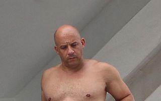 Furios şi gras: Vin Diesel a rămas fără muşchi şi are ditamai burta! - VIDEO