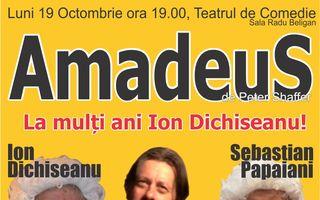 """""""Amadeus"""", premiera teatrală sub regia lui Toma Enache în care se întâlnesc trei generații de actori!"""