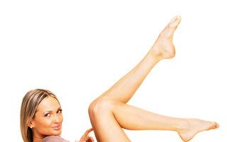 Secretul picioarelor perfecte. Ce operaţie trebuie să faci?
