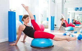 Antrenament BOSU: Ce este şi cum te ajută să ai un corp de invidiat?