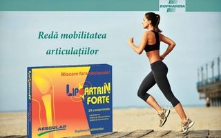 Previne cele mai frecvente dureri articulare cu Lipoartrin Forte