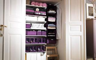Casa ta. 6 trucuri pentru ca dulapurile tale să fie mai încăpătoare