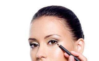 Frumuseţe. 6 greşeli pe care le faci când aplici creionul dermatograf