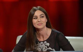 Monica Bellucci recomandă sexul frecvent şi alimentaţia sănătoasă